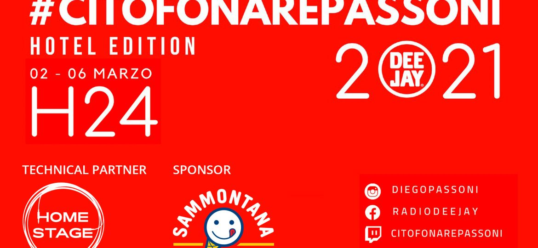 Citofonare Passoni Radio DJ - San Remo 2021
